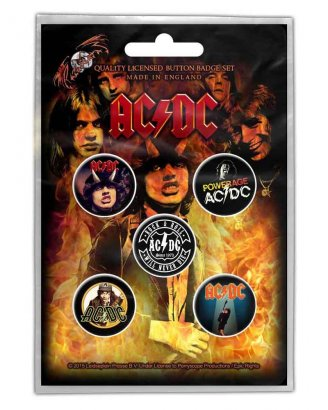 AC/DC - HIGHWAY TO HELL PINS 5-PACK