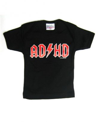 Barn T-shirt - ADHD - Blue Fox