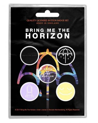 Bring Me The Horizon Thats the Spirit PINS 5-PACK