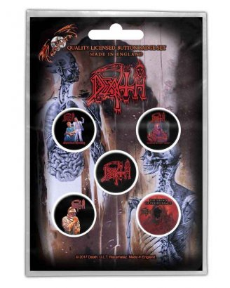 Death Albums PINS 5-PACK