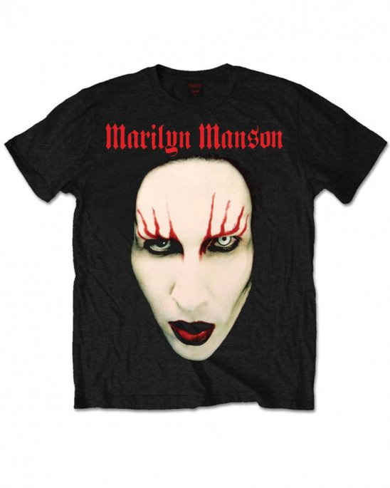 Marilyn Manson Red Lips T-shirt